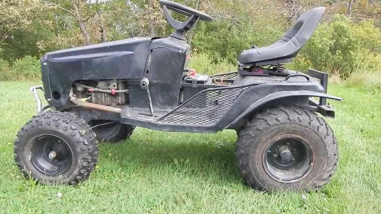 Lawn Mower Racing >> How To Build Off Road Mud Mower (Part 2) - YouTube