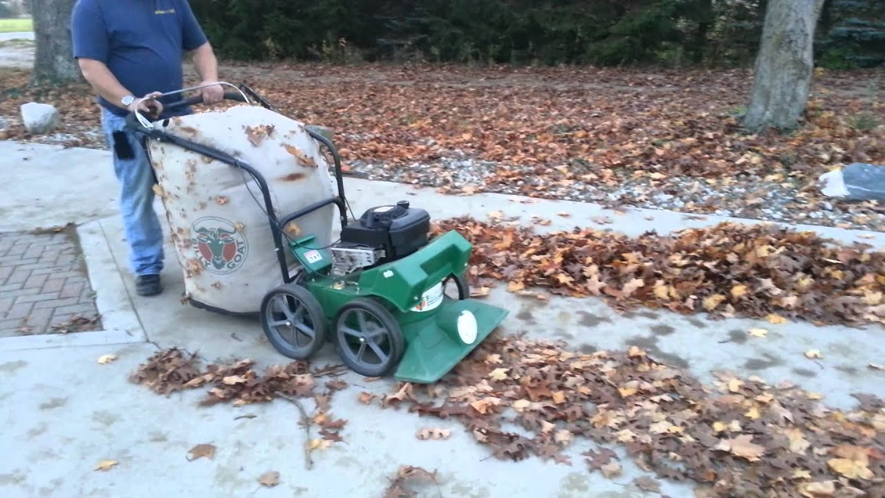 Billygoat Leaf Vac Youtube