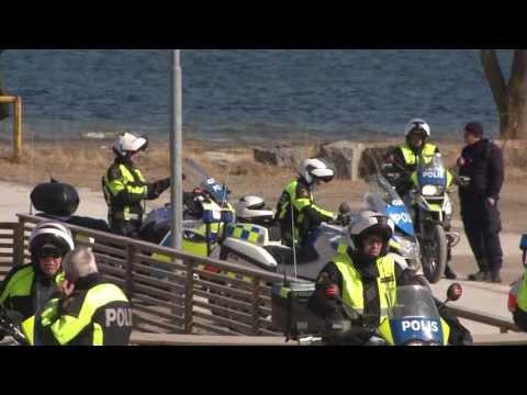 SPECIAL: Blåljus följer med mc-polisen till Gotland
