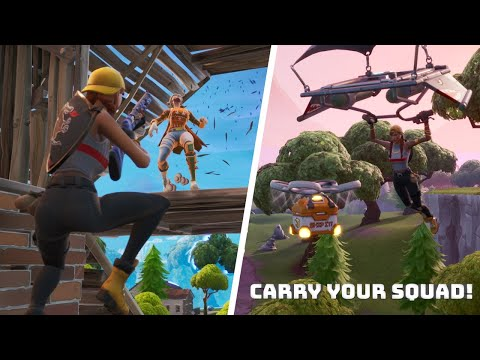 Easily CARRY Your Squad! (Solo v Squad Tips and tricks)