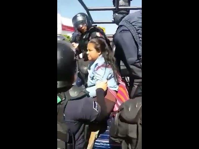 Jornada violenta entre policías y sindicatos en Michoacán