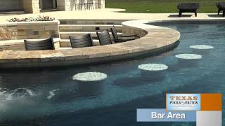 Pool Features: Swim Up Bar, Texas Pools and Patios