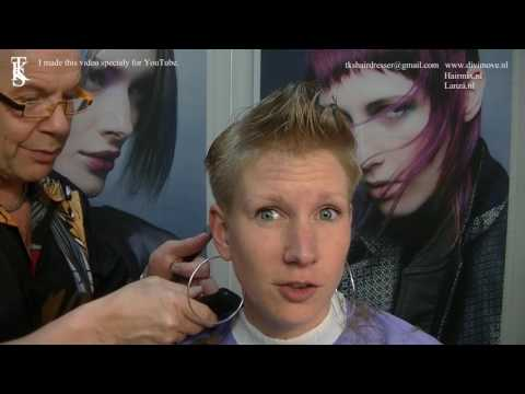 I'm a hairdresser and love woman with short hair! Tutorial of Lisette by TKS