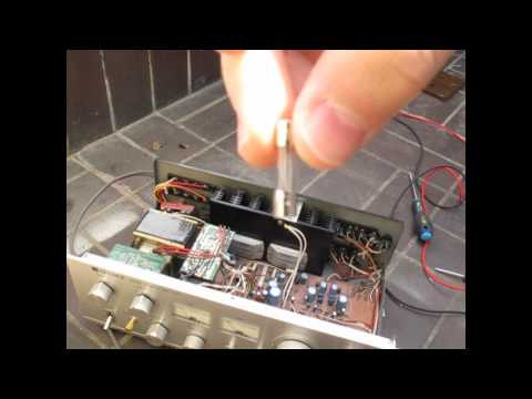 Optonica Amplifier Repair