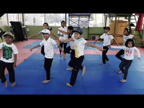Chalti he kya- kids batch @ILLUSIONSCUBE DANCE STUDIO