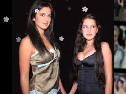 شاهد اخوات الممثلة الهندية كاترينا كابور شقراوات يشبهان ابوهم الانجليزي هي الوحيده تشبه والدتها الهن