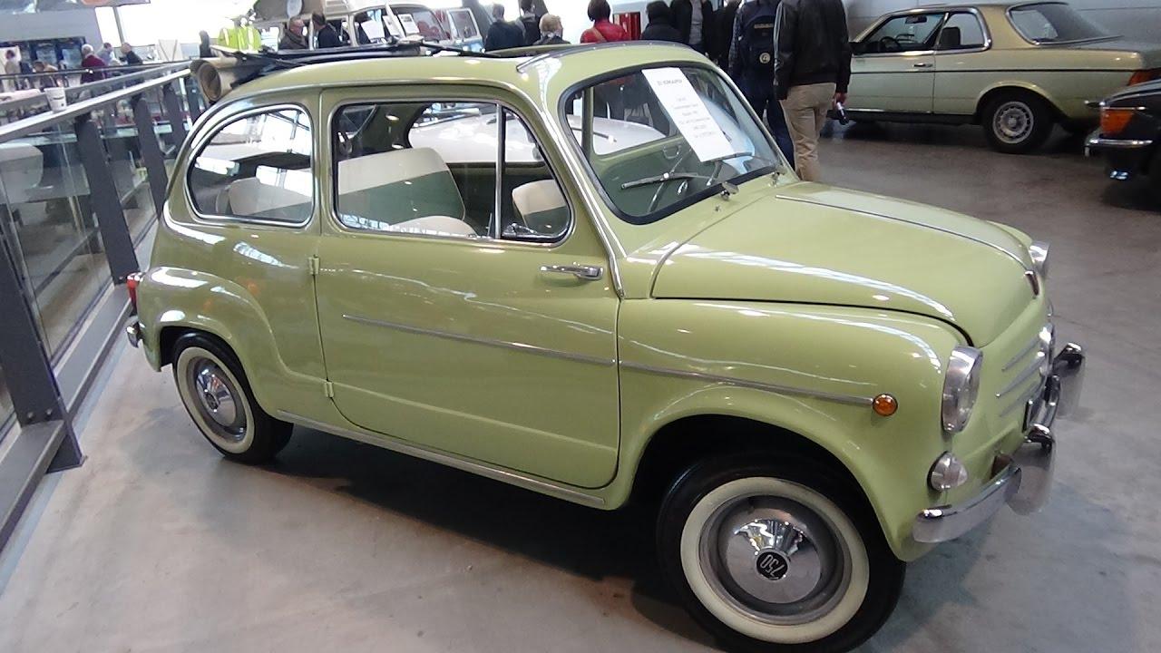 fiat 600 d 1963