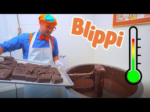 Blippi Makes Chocolate