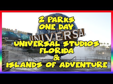 2 Parks in One Day Universal Studios Florida & Islands of Adventure- Sir Willow's Park Tales ep 37