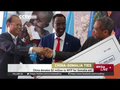 China donates $2m to WFP for Somalia aid