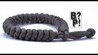 "Make the ""Snake Knot"" Paracord Bracelet w/ Mad Max Style Closure  - BoredParacord.com"