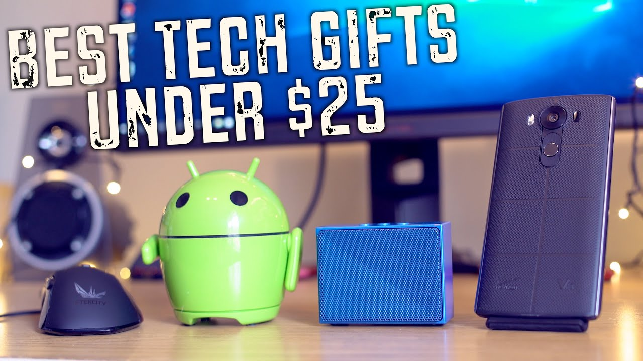 Top 5 Holiday Tech Pc Gifts Under 25 Youtube