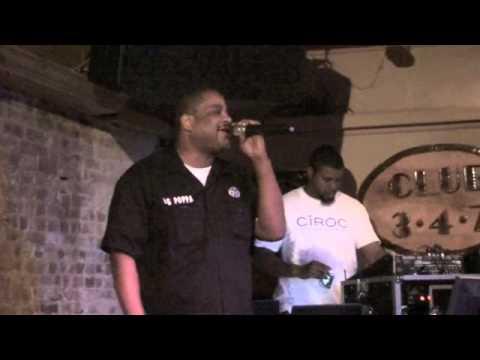 """Karaoke Night at Club 347 - Big Poppa """"I'd Give Anything"""" - October 24, 2012"""