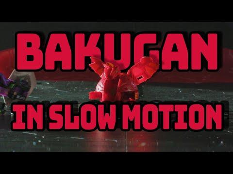 Bakugan In Slow-Mo     BAKUGAN BATTLE PLANET