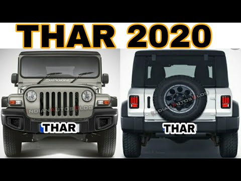 2020 New Mahindra THAR Launch Soon | Mahindra THAR Launch Date, Exterior, Interior, Features, Prices