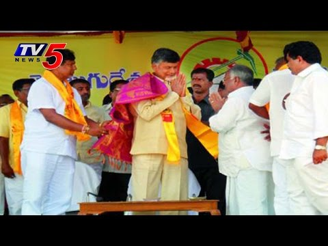 CM Chandrababu jubilant Speech in Anantapur tour : TV5 News
