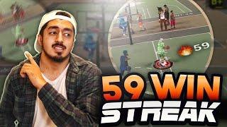 59 WIN STREAK with a SHOT CREATOR in NBA2K17! (All Game Winners)