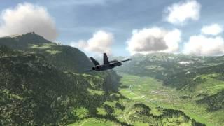 AeroFly FS F-18 Flight :)