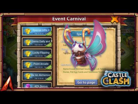 Castle Clash Leveling Up New Pet Auroria! Events!