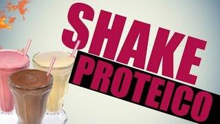 Shake Proteico Caseiro (Sem Whey)