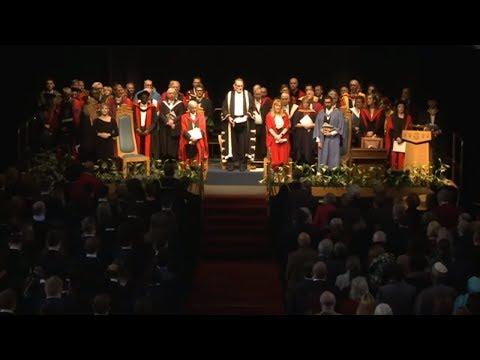 University of Aberdeen Winter Graduations 2017  Friday 11am