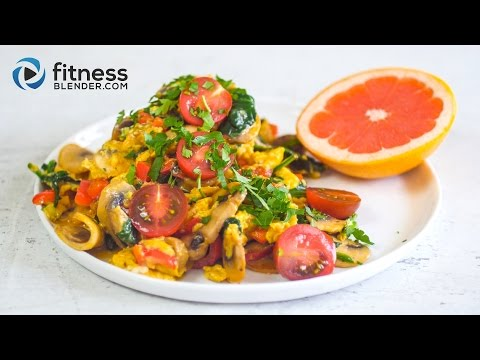 Quick & Easy Breakfast Ideas - Veggie Scramble