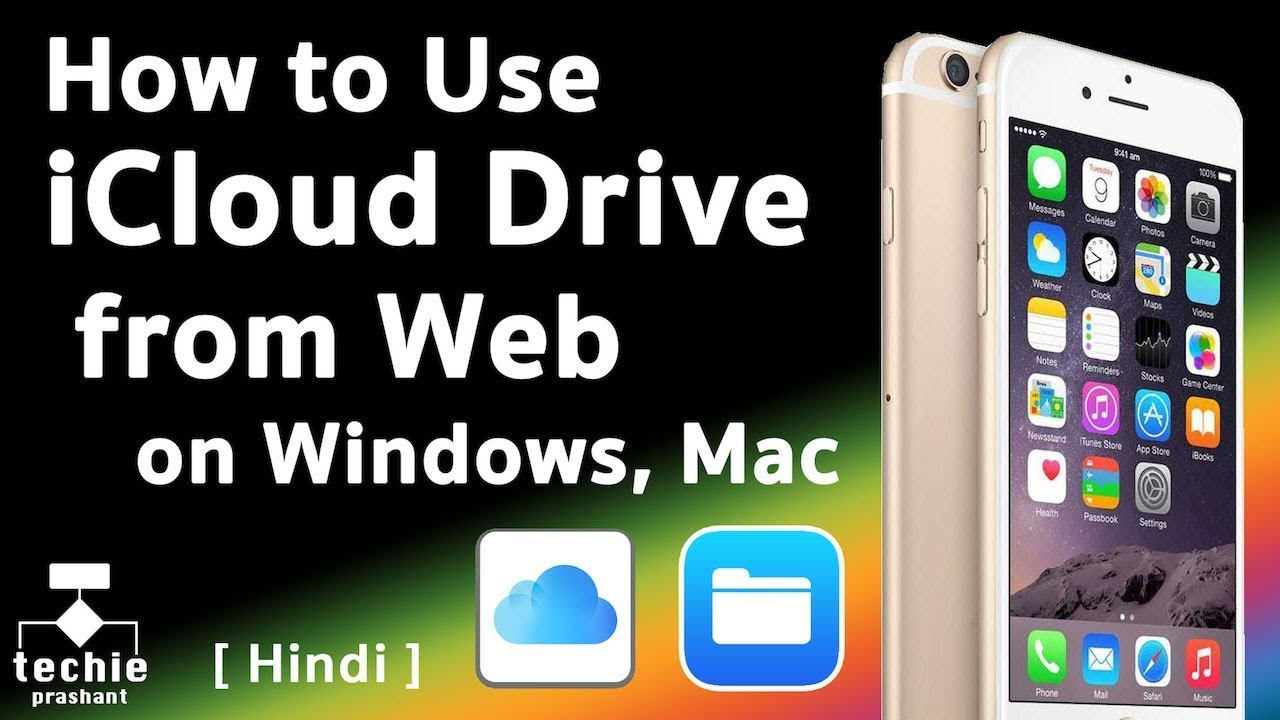 How to use iCloud Drive from Web on Windows, iMac, or Linux  HINDI