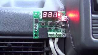 Цифровий терморегулятор W1209 Dc 12 В огляд/налаштування