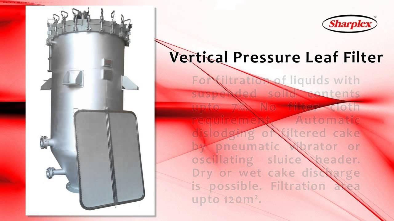Vertical Pressure Leaf Filter, Liquid Filters In India