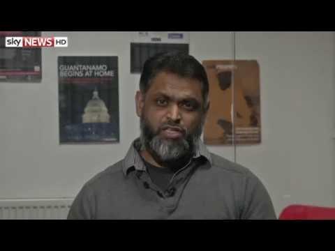 Moazzam Begg On CIA Torture Report - Sky News