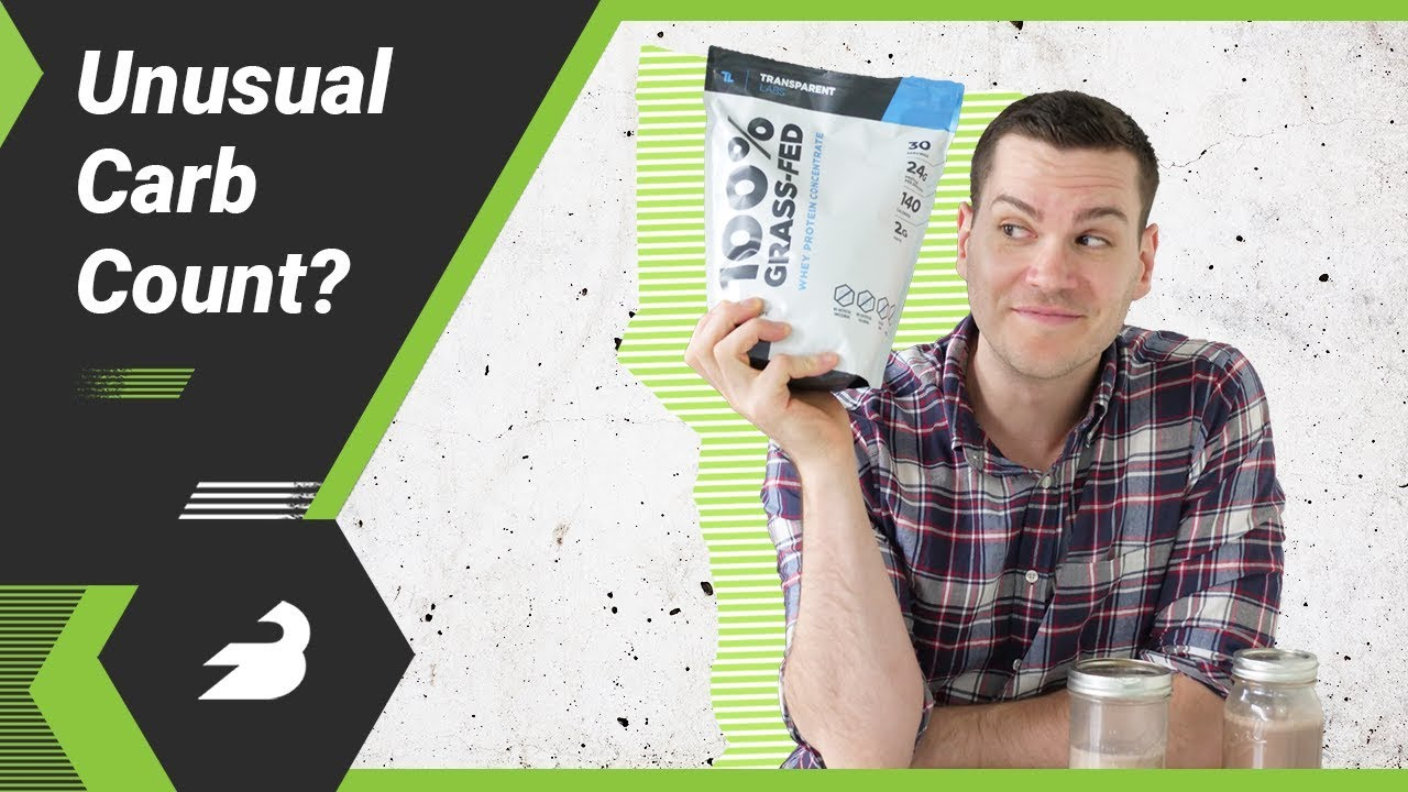 Transparent Labs 100 Grass Fed Whey Concentrate Review Unusual Carb Count Youtube
