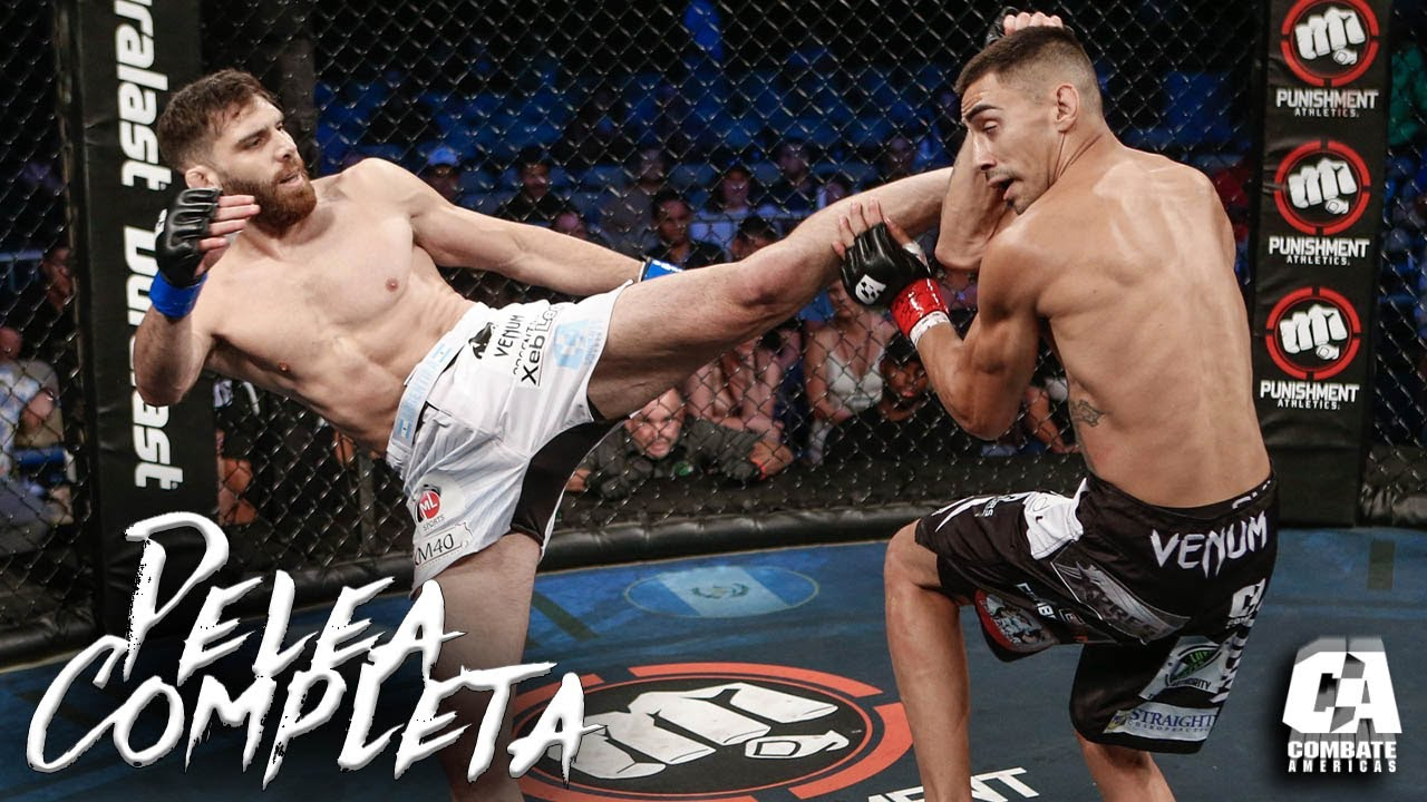 Bruno Cannetti vs Andres Quintana Full Fight | MMA | Combate Tahoe