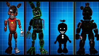 FNAF AR Special Delivery Withered Hoax Animatronics Workshop Animations