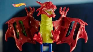 Smyths Toys - Hot Wheels Dragon Blast Playset