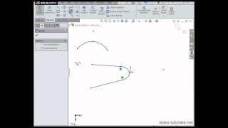 كيفية إنشاء الحذف & منحنيات مخروطي #3 - SOLIDWORKS أساسيات