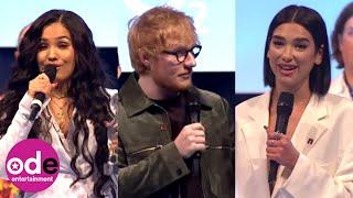 Ed Sheeran, Dua Lipa, Sam Smith and Mabel Pick Up Silver Clef Awards