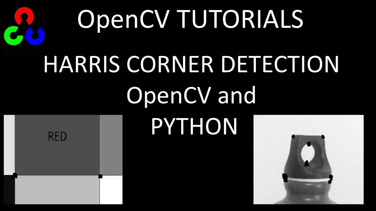 Harris Corner Detection using OpenCV and Python