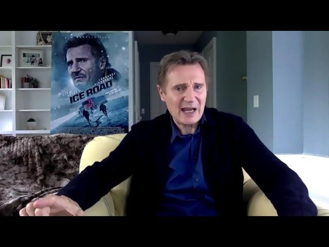 """Liam Neeson Talks """"The Ice Road"""""""