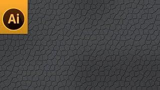 كيفية إنشاء جلدية الملمس في Illustrator