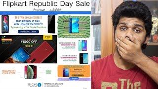 Flipkart Republic Day  2019 Sale Preview in Tamil!