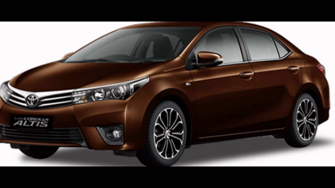 All New Corolla Altis Jual Toyota 2016 Dark Brown Mica Youtube