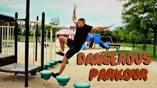 One of DavidParody's most viewed videos: SCARY PARKOUR ACCIDENT!!!