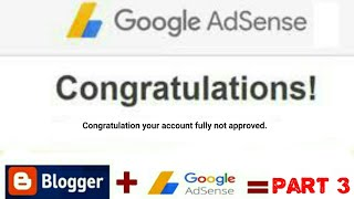 Google AdSense Not Approved My Website   How To Monetize My Website & Blogger 2018-2019