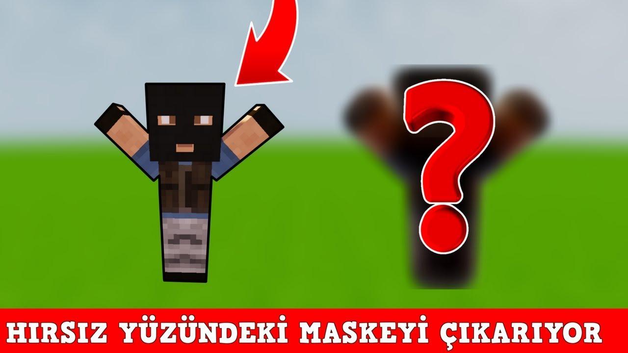 HIRSIZ VS POLİS #73 - Hırsız Maskesini Çıkartıyor (Minecraft)
