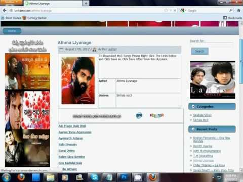 How to Download Sinhala mp3