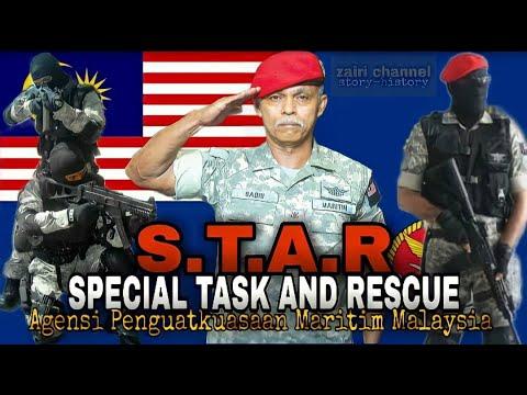 STAR | Special Task And Rescue | PTK | APMM | Komando Maritim