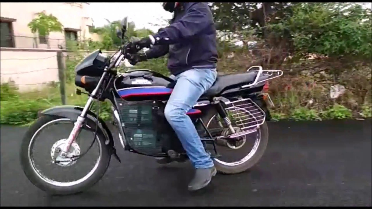 Electric motorcycle conversion kit India | Electric bike