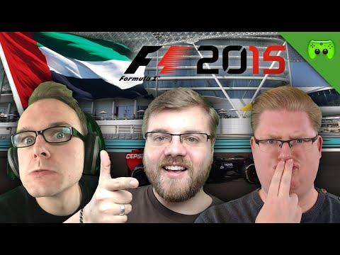GP VON ABU DHABI 1/2 🎮 F1 2015 #19
