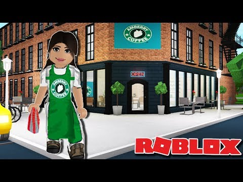 AMBERRY COFFEE ☕ | Making a Coffee Shop on Bloxburg | Roblox