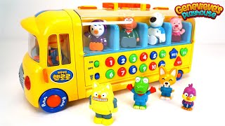 Best Toddler Learning Videos for Kids Learn Colors Counting Words with Pororo Toy Dollhouse and Bus!